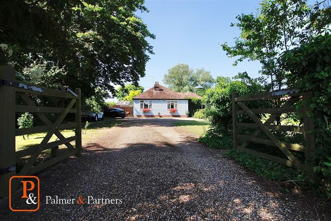 3 bed detached bungalow for sale in Silver Hill, Hintlesham, Ipswich, Suffolk IP8