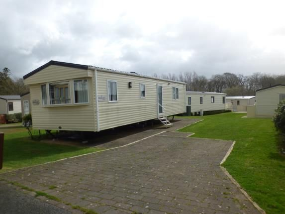 Driveway of Plas Coch Holiday Park, Llanddaniel, Anglesey, North Wales LL61