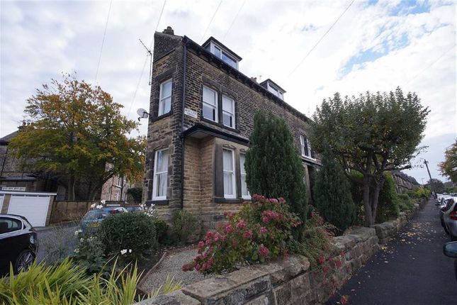 Thumbnail Flat to rent in West Cliffe Terrace, Harrogate, North Yorkshire