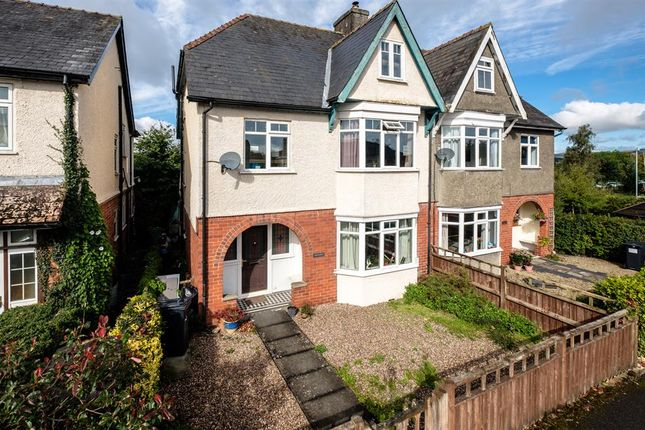 Thumbnail Semi-detached house for sale in Hathaway, Victoria Road, Llandrindod Wells