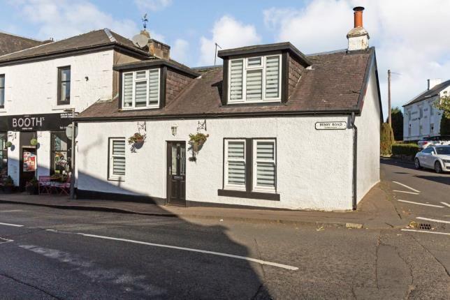 Thumbnail End terrace house for sale in Busby Road, Carmunnock, Glasgow, East Renfrewshire