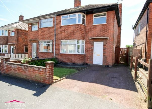 Thumbnail Semi-detached house for sale in Shottery Avenue, Leicester