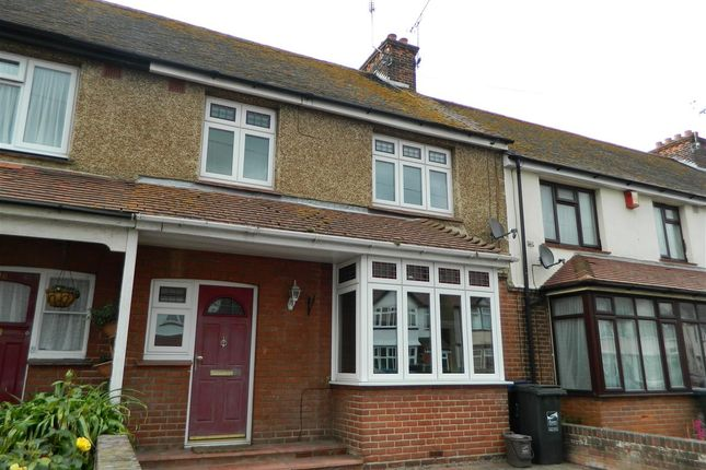 Thumbnail Terraced house to rent in Westbrook Avenue, Margate