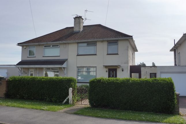 Semi-detached house for sale in Burns Drive, Corby