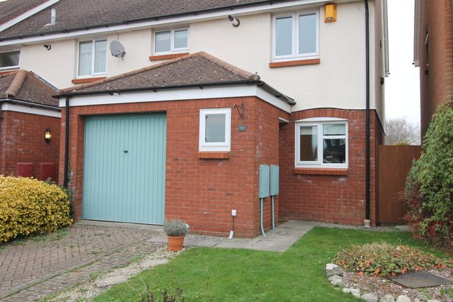 Thumbnail Semi-detached house to rent in Waterside Drive, Donnington, Chichester