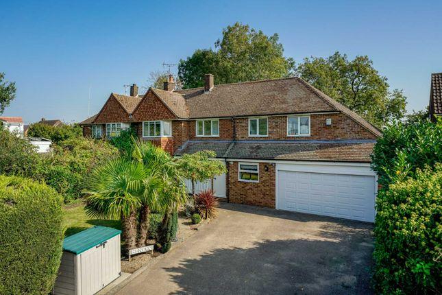 Thumbnail Semi-detached house for sale in Bedmond Road, Pimlico, Hemel Hempstead