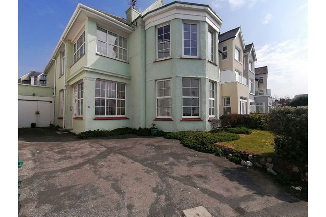 2 bed flat for sale in Marine Crescent, Deganwy LL31