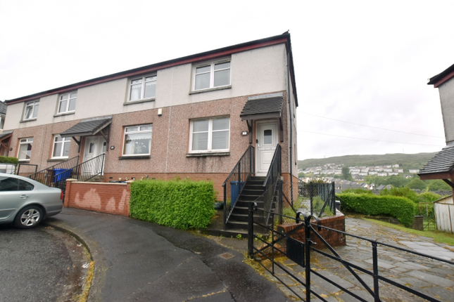 Thumbnail 2 bedroom end terrace house for sale in 19 Gray Street, Greenock