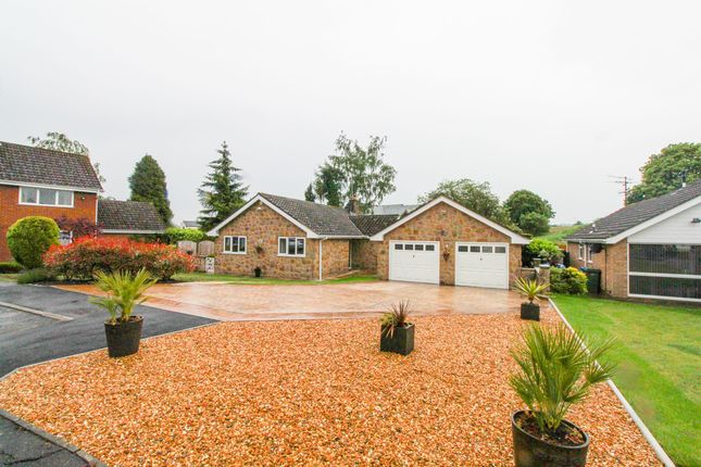 Thumbnail Detached bungalow for sale in South Lodge Court, Old Road, Chesterfield