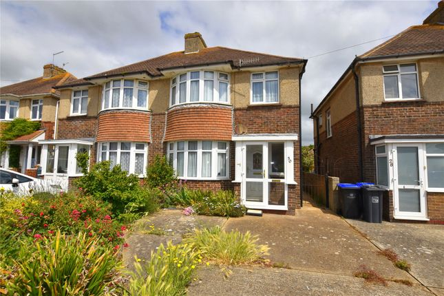 Semi-detached house for sale in Franklin Road, Shoreham-By-Sea, West Sussex