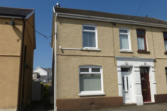 Thumbnail Semi-detached house to rent in Arthur Street, Ammanford, Carmarthenshire.