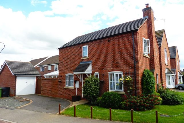 Thumbnail Detached house for sale in Dunnock Lane, Grange Park, Northampton