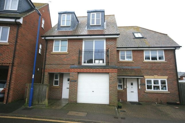 Thumbnail Town house for sale in Lewis Road, Selsey, Chichester