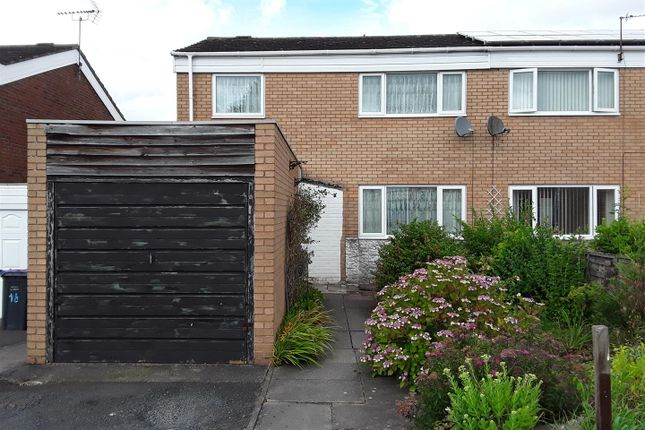 Thumbnail Terraced house for sale in Cranmere, Stirchley, Telford