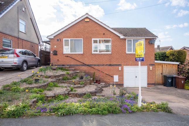 Thumbnail Detached bungalow for sale in Oakland Grove, Calverton, Nottingham