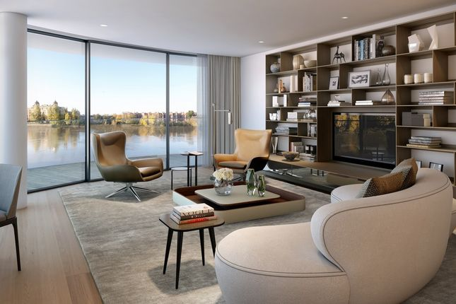 Thumbnail Flat for sale in Fulham Reach, Parr's Way