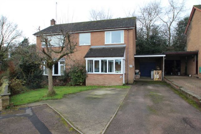 Thumbnail Detached house for sale in Hunters Close, Blofield, Norwich