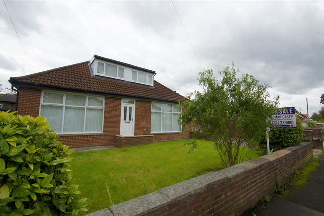 Thumbnail Detached bungalow for sale in Turks Road, Radcliffe, Manchester