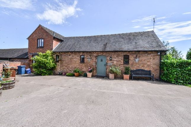 Thumbnail Equestrian property for sale in Brook Lane, Ranton, Stafford