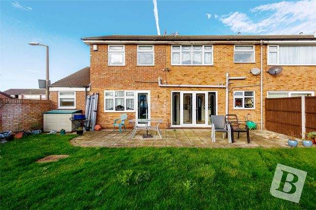 Thumbnail End terrace house for sale in Manston Way, Hornchurch