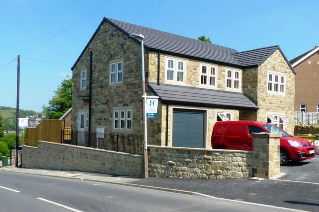Thumbnail Detached house for sale in Knowler Hill, Liversedge, West Yorkshire.
