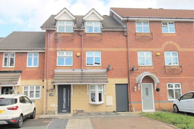 Thumbnail Town house for sale in Longfellow Close, Kirkby, Liverpool