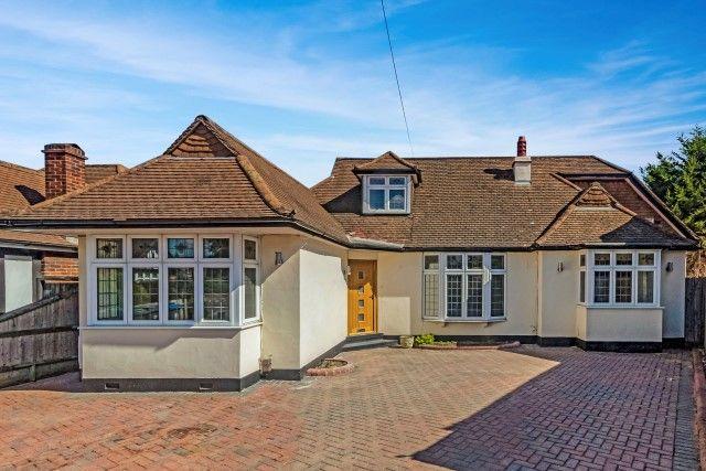 Thumbnail Detached bungalow for sale in Elmcroft Close, Hook