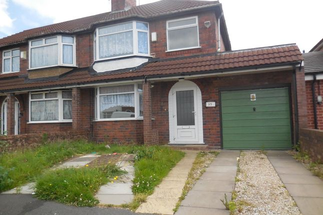 Thumbnail Semi-detached house to rent in Probert Road, Oxley, Wolverhampton