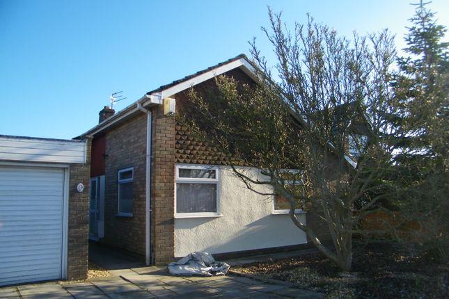 Thumbnail Detached bungalow to rent in Blackmore Road, Melksham, Melksham, Wiltshire