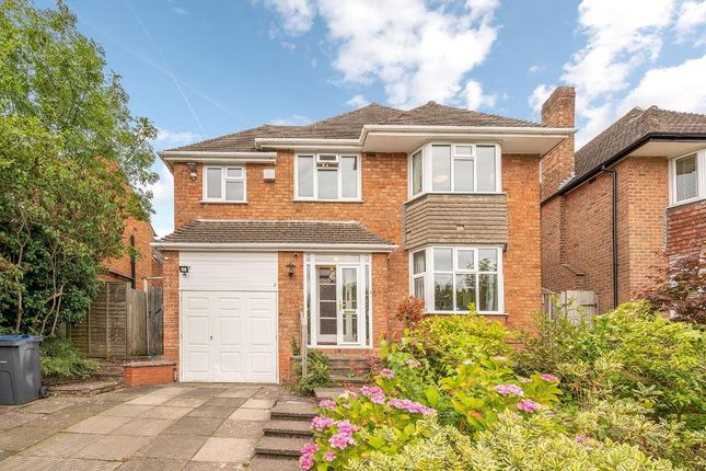 Thumbnail Detached house for sale in Dorchester Drive, Harborne, Birmingham, West Midlands