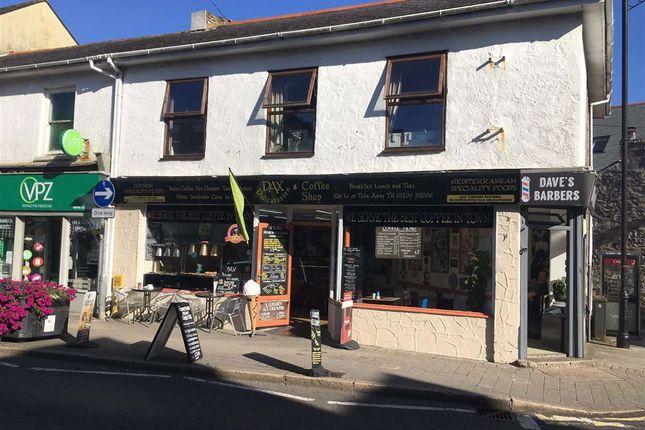 Thumbnail Restaurant/cafe for sale in Dax Deli, 37, Trelowarren Street, Camborne, Cornwall