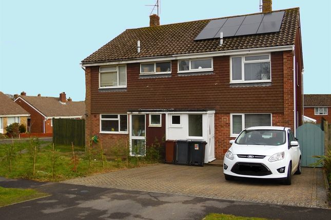 Thumbnail Semi-detached house for sale in Grange Close, Horam, Heathfield