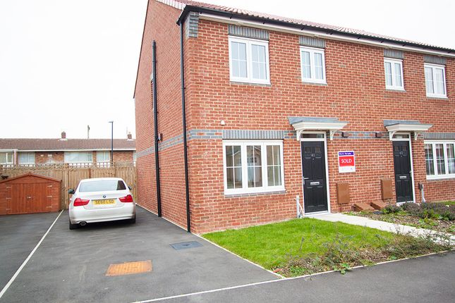 Thumbnail Semi-detached house to rent in Westfields, Hartlepool