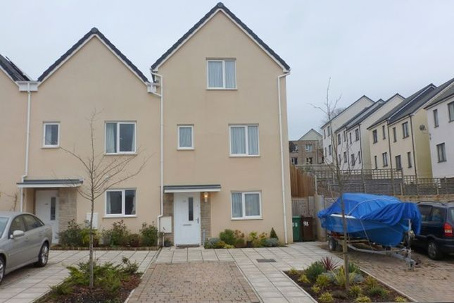 Thumbnail End terrace house for sale in Foliot Road, Plymouth