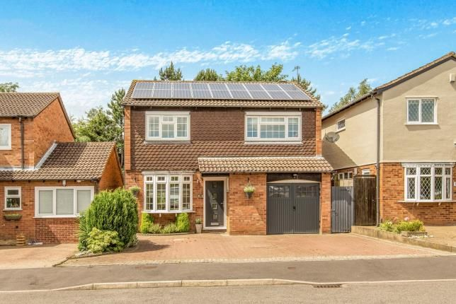 Thumbnail Detached house for sale in Ridgeley Close, Woodloes Park, Warwick, Warwickshire