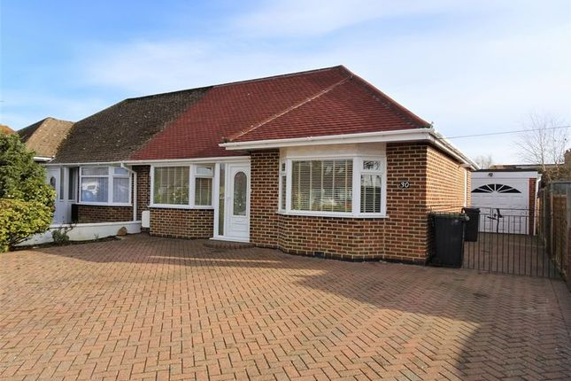 Thumbnail Semi-detached bungalow for sale in Burnham Road, Worthing