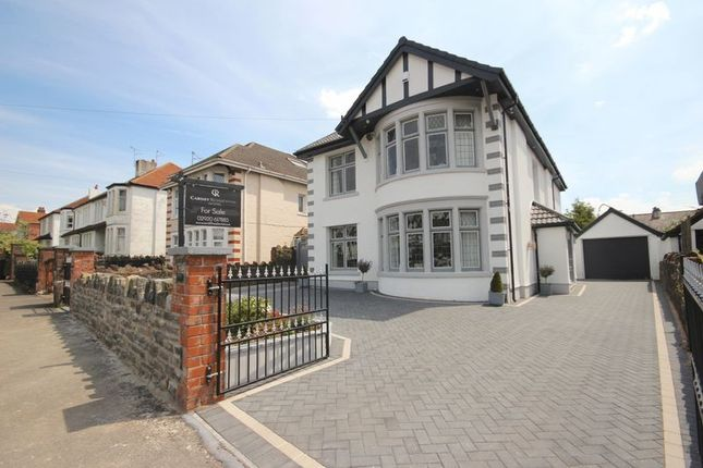 Thumbnail Detached house for sale in St. Michaels Road, Llandaff, Cardiff