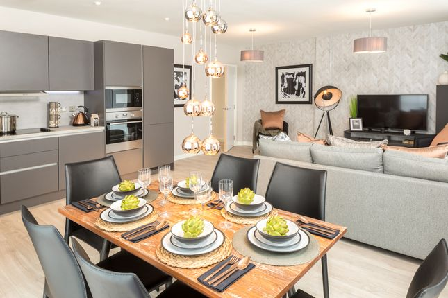 Thumbnail Flat to rent in Brand New, Upton Gardens, Eastham, London