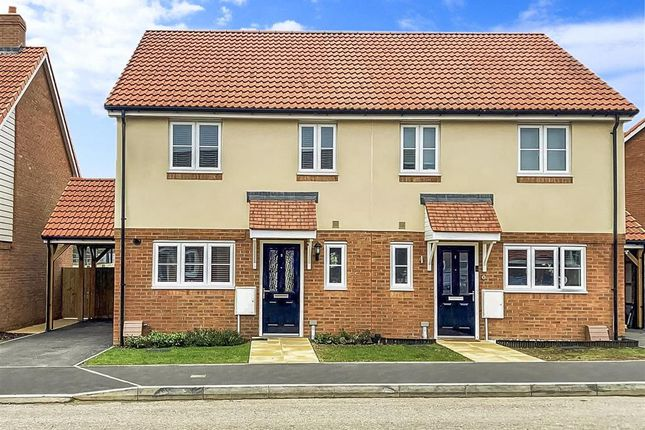 3 bed semi-detached house for sale in Singledge Lane, Whitfield, Dover, Kent CT16