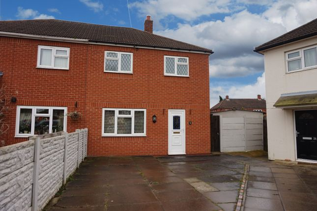 Thumbnail Semi-detached house for sale in Ash Grove, Tamworth