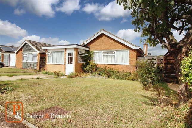 Thumbnail Detached bungalow for sale in Woodlands, Chelmondiston, Ipswich