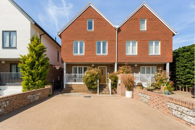 Thumbnail Town house to rent in The Street, Bramber, Steyning
