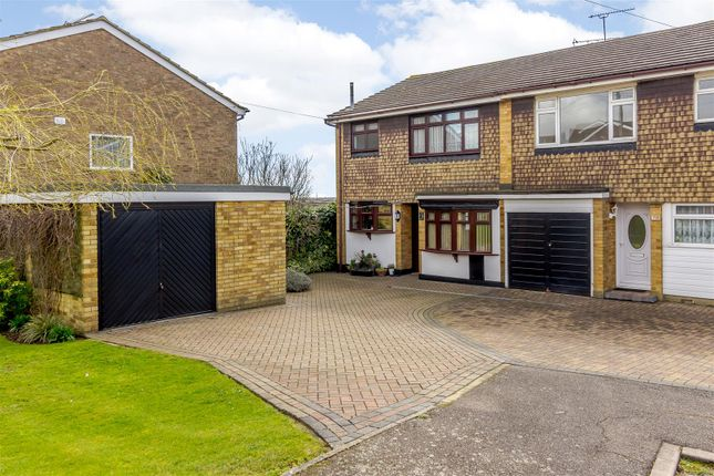 3 bed semi-detached house for sale in Brackendale Avenue, Pitsea, Basildon