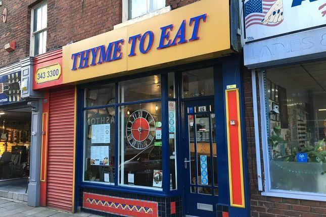 Thumbnail Restaurant/cafe for sale in Stamford Street Central, Ashton-Under-Lyne