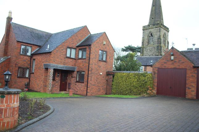 Thumbnail Detached house for sale in Andrew Close, Stoke Golding, Nuneaton