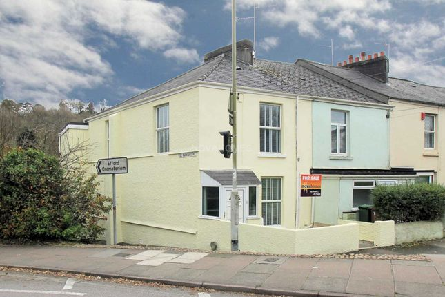Thumbnail End terrace house for sale in Frogmore Ave, Plymouth