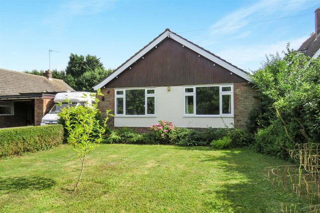 Thumbnail Detached bungalow for sale in Fellowes Drive, Ramsey, Huntingdon