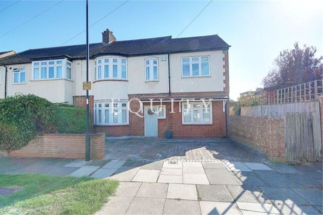 Thumbnail Semi-detached house for sale in Woodbine Grove, Enfield