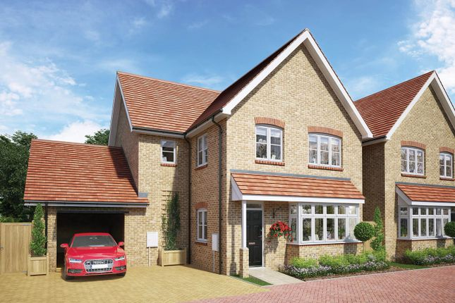 Thumbnail Detached house for sale in The Wootton, Whitworth Way, Wilstead, Bedford