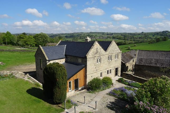 Thumbnail Detached house for sale in Coach Road, Overton, Ashover, Derbyshire